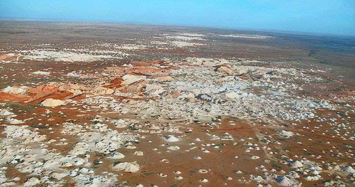 Coober Pedy by air