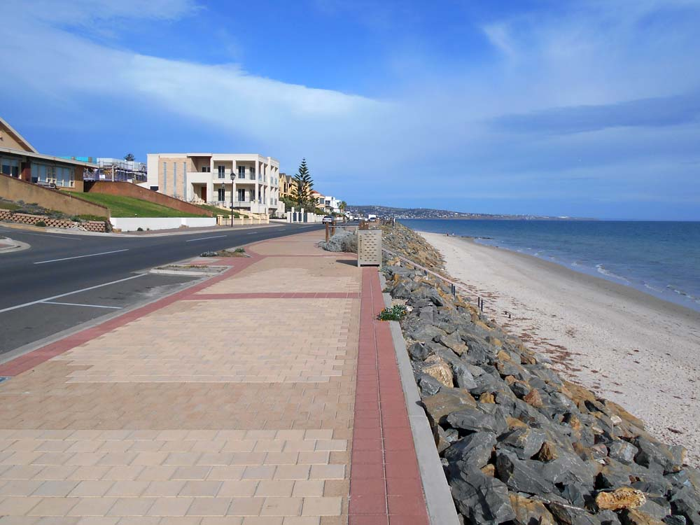 It was a beautiful day to walk the lovely Glenelg esplanade north toward Adelaide.